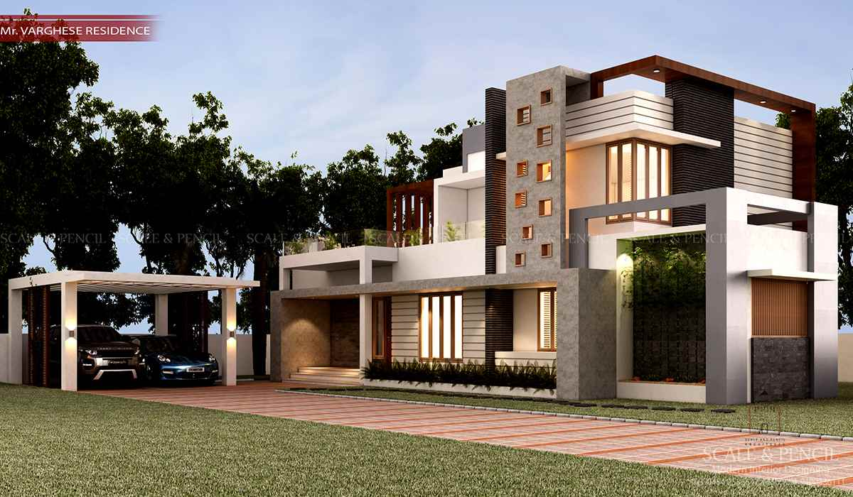 Latest New Modern House Designs Home Plans Kerala India