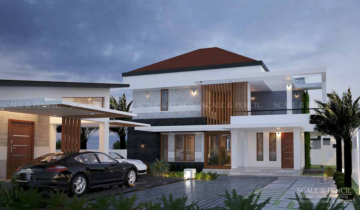 Latest New Modern House Designs Home Plans Palarivattom