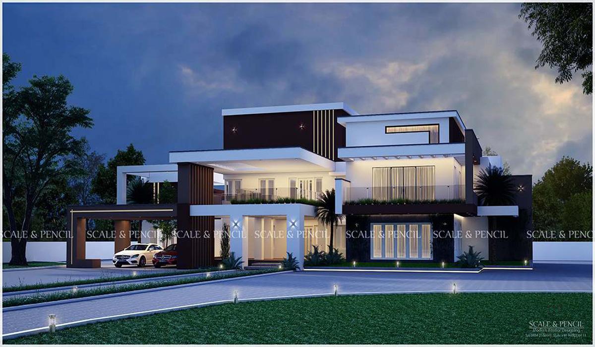 Best House Designs Thrissur Home Designers Vadakkanchery