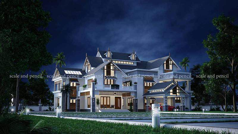 Best House Front Elevation Design In Kerala India