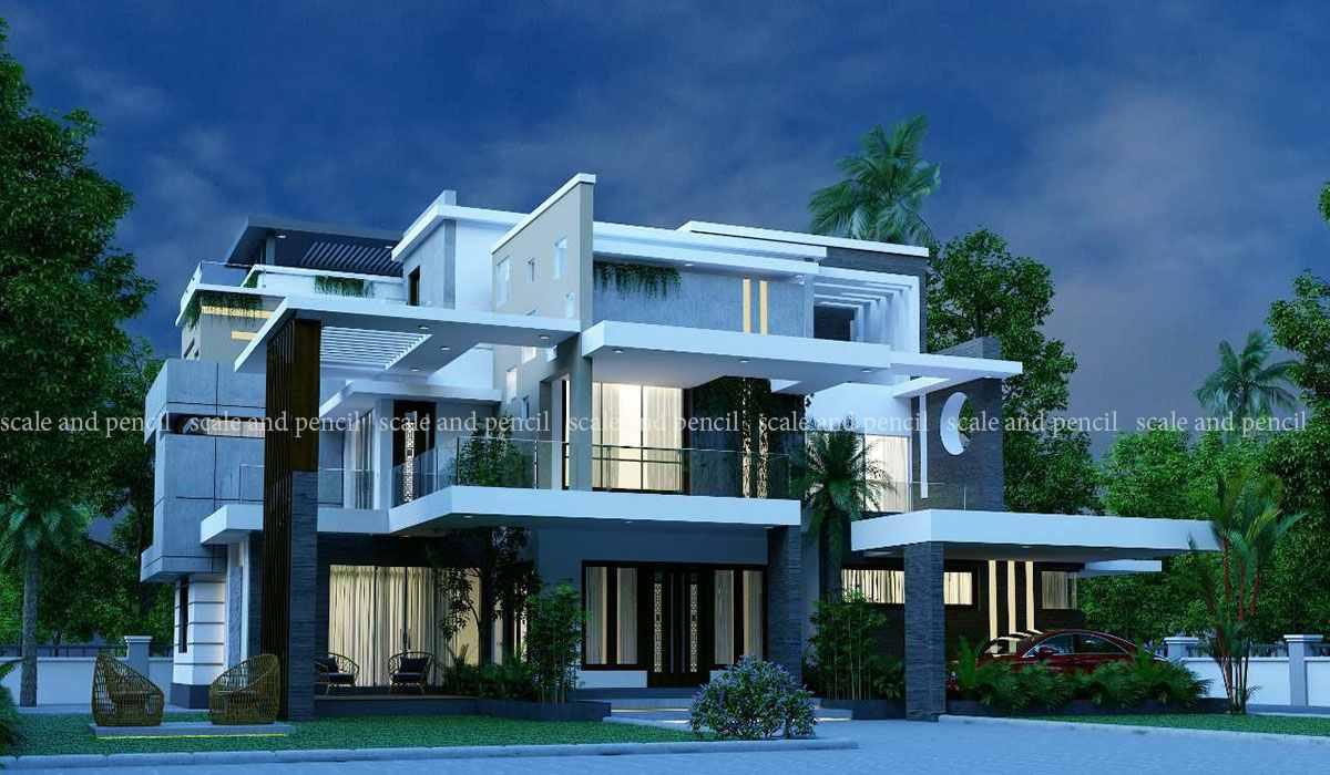 Latest New Modern House Designs Home Plans Kakkanad