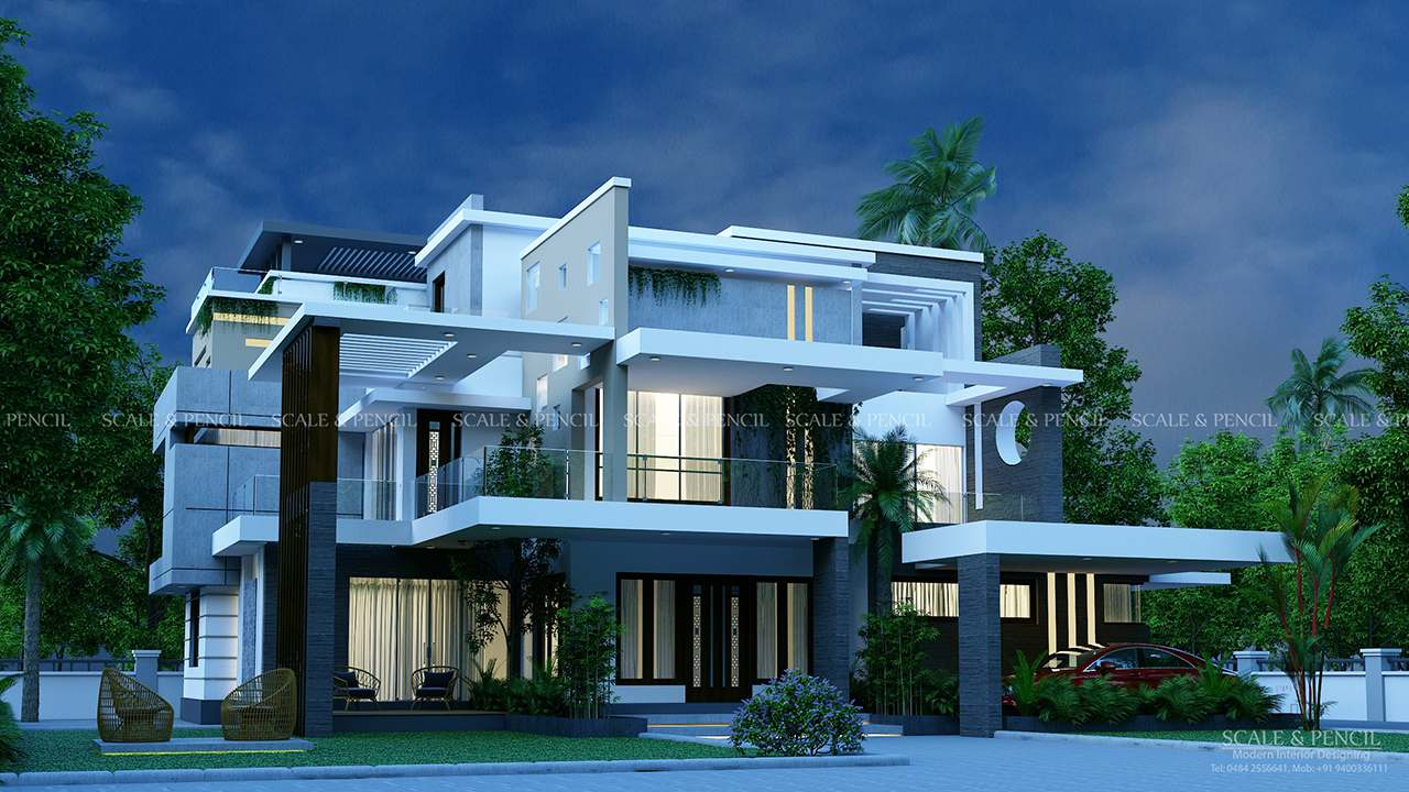 Best House Designs Thrissur Home Designers Vadakkanchery