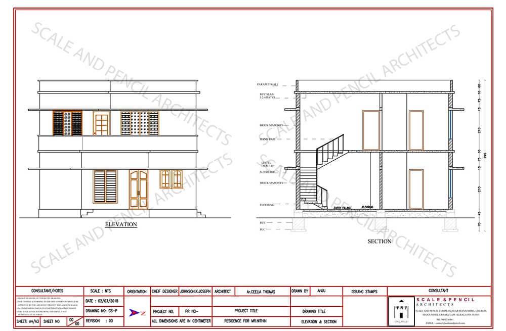 New House Design Plans Kochi, Building