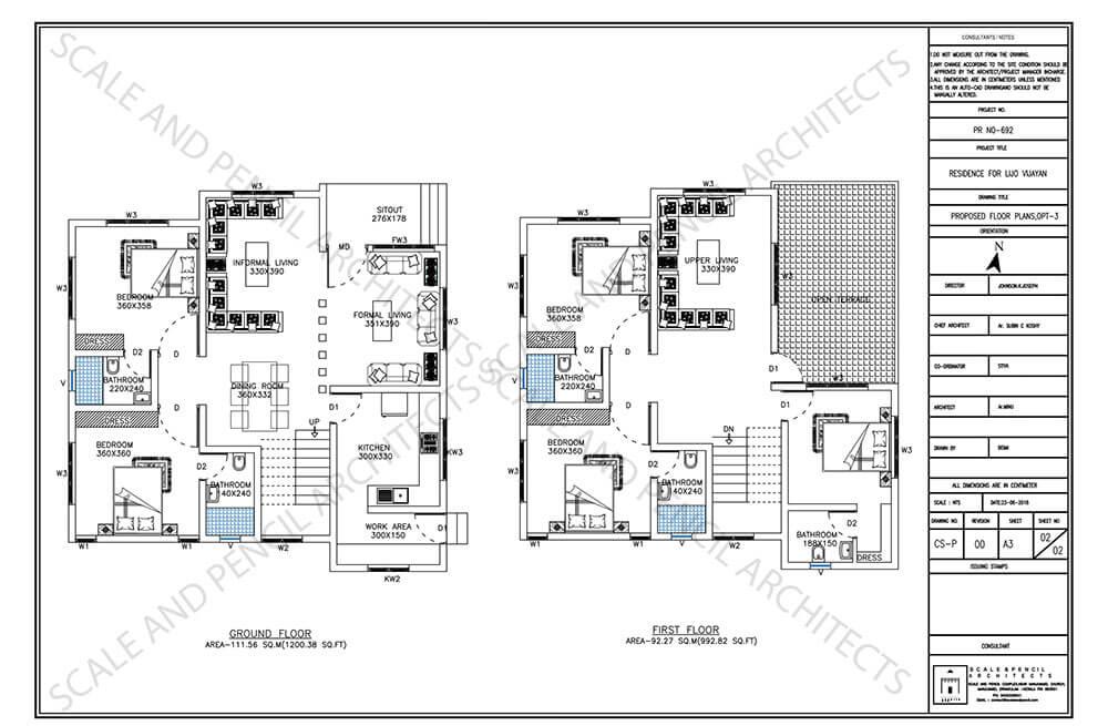 New House Design Plans Kochi Building Plans Floor Plans Ernakulam Kerala