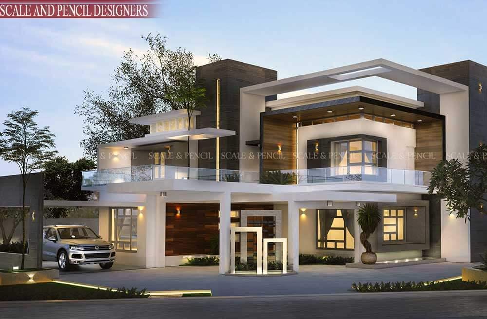 New Model House Design Ernakulam Kochi Modern Home Design
