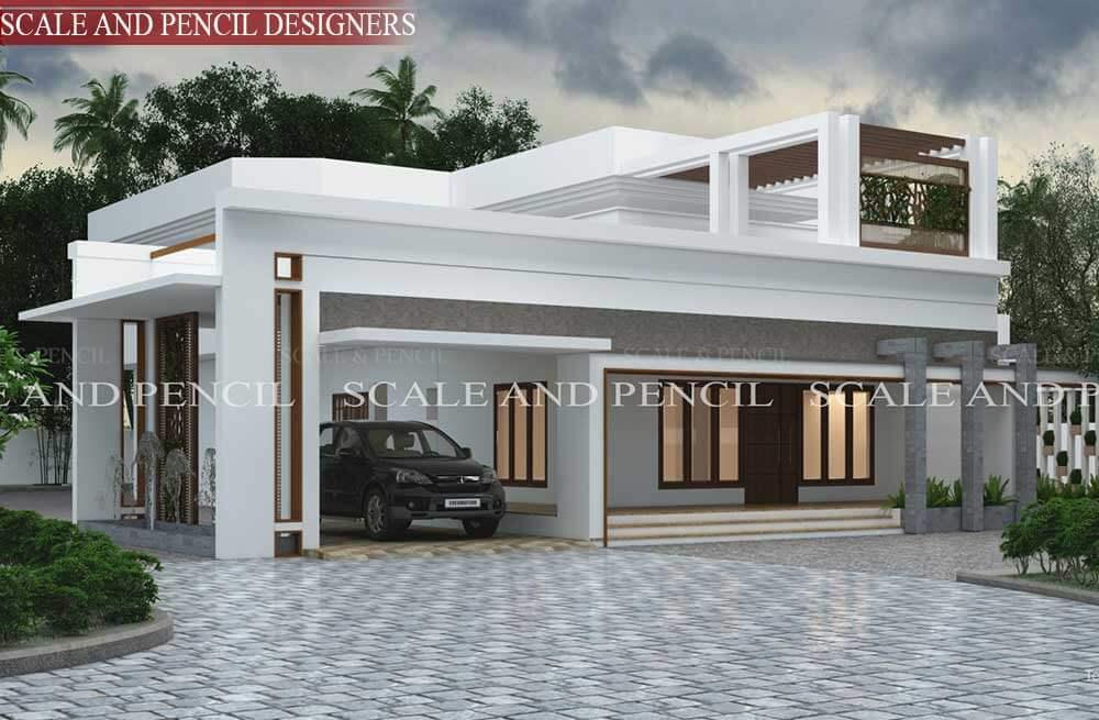 Exterior Home Design Kochi Ernakulam Exterior House