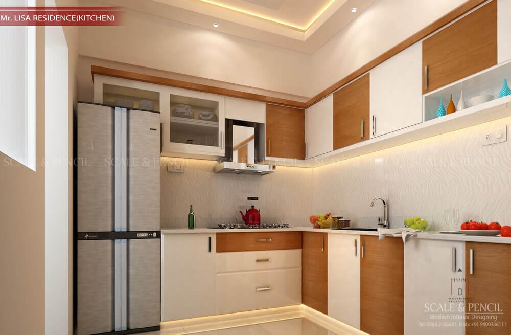 Modern Kitchen Design Kochi Kerala Modular Kitchen Interior Design Ernakulam